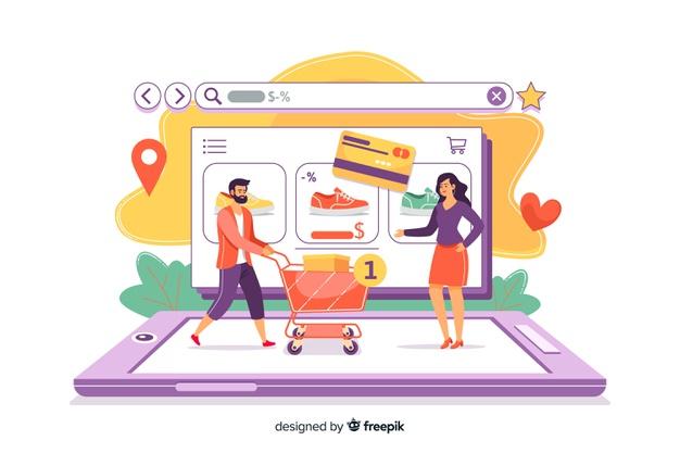تاثیر خرید آنلاین در صنعت خرده فروشی